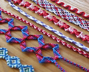 yarn bracelet patterns instructions