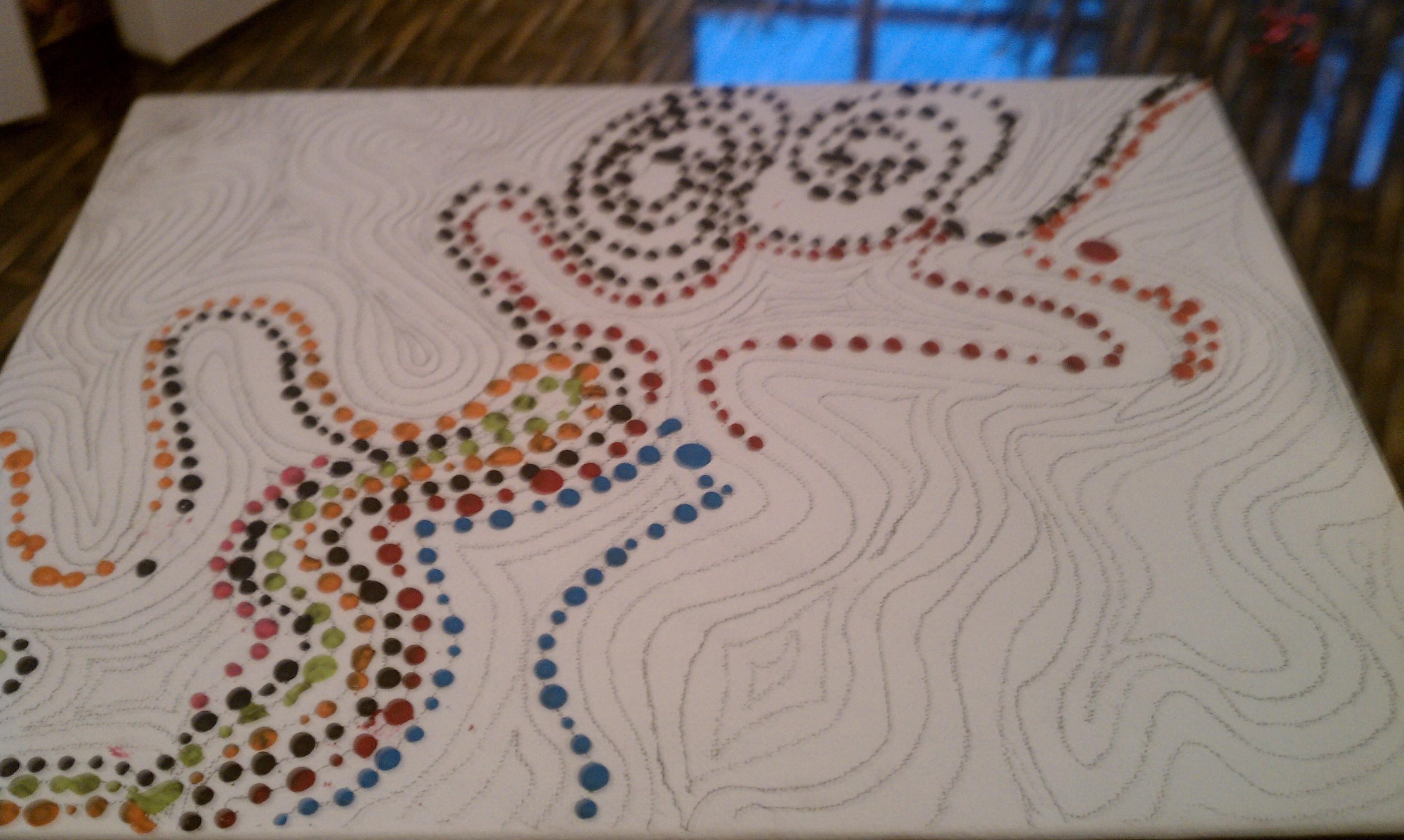 Wax Crayon Art Ideas